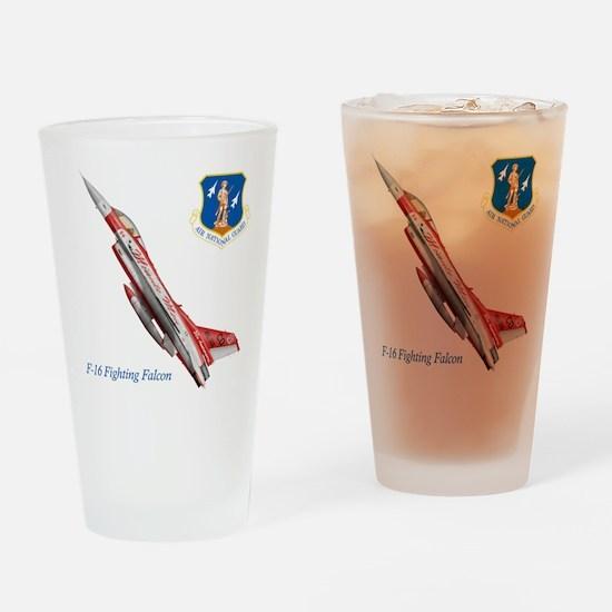 3-anglogo.jpg Drinking Glass