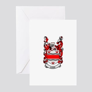 DODD Coat of Arms Greeting Cards (Pk of 10)
