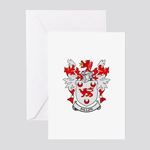 DILLON Coat of Arms Greeting Cards (Pk of 10)