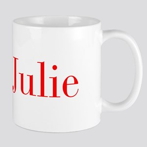Julie-bod red Mugs