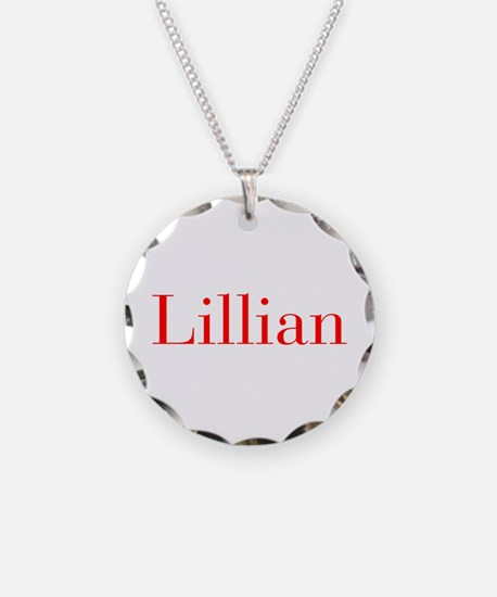 Lillian-bod red Necklace