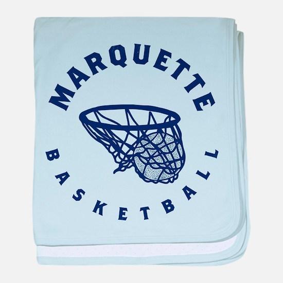 Marquette Golden Eagles Basketball baby blanket