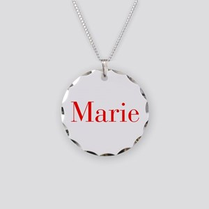 Marie-bod red Necklace