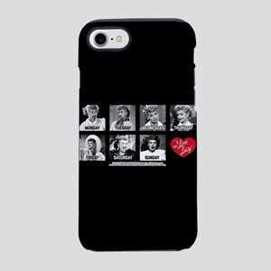 Lucy Days of the Week iPhone 7 Tough Case