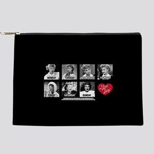 Lucy Days of the Week Makeup Pouch