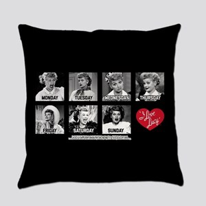 Lucy Days of the Week Everyday Pillow