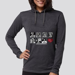 Lucy Days of the Week Womens Hooded Shirt