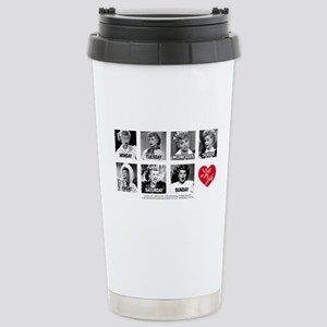 Lucy Days of the 16 oz Stainless Steel Travel Mug