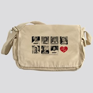 Lucy Days of the Week Messenger Bag