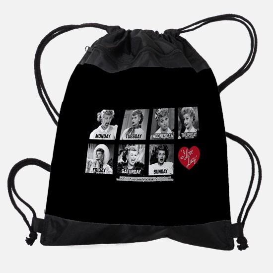 Lucy Days of the Week Drawstring Bag