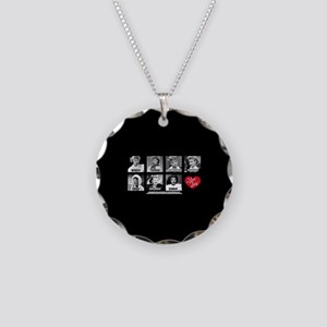 Lucy Days of the Week Necklace Circle Charm