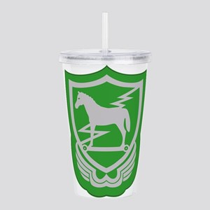 10th Special Forces Gr Acrylic Double-wall Tumbler