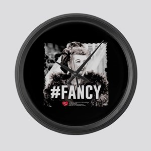 I Love Lucy #Fancy Large Wall Clock