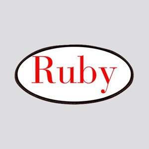 Ruby-bod red Patches