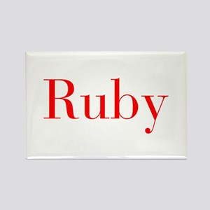 Ruby-bod red Magnets