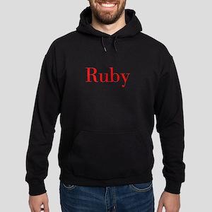 Ruby-bod red Hoodie