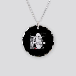 I Love Lucy #Awkward Necklace Circle Charm