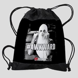 I Love Lucy #Awkward Drawstring Bag
