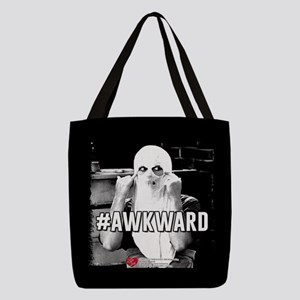 I Love Lucy #Awkward Polyester Tote Bag