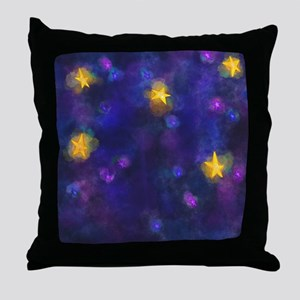Stary Stary Sky Throw Pillow