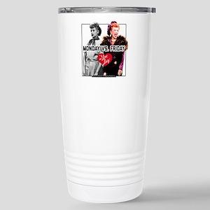 I Love Lucy Monda 16 oz Stainless Steel Travel Mug