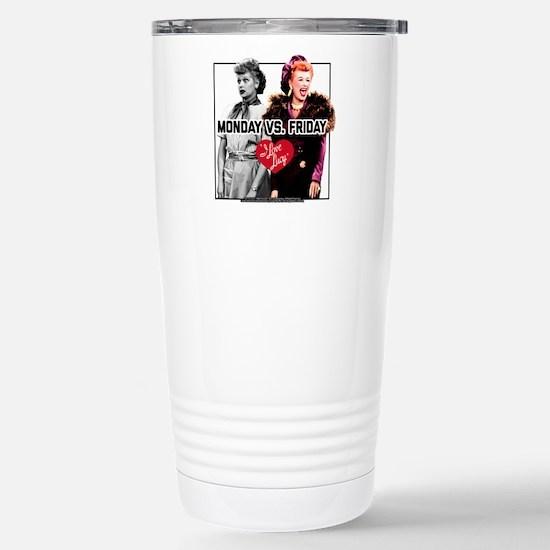 I Love Lucy Monda Travel Mug
