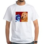 Dog White T-Shirt