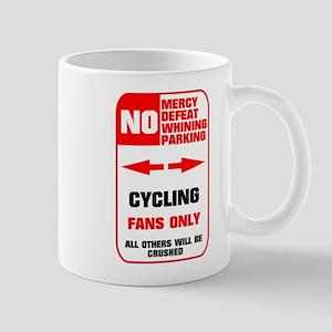 NO PARKING Cycling Sign Mug