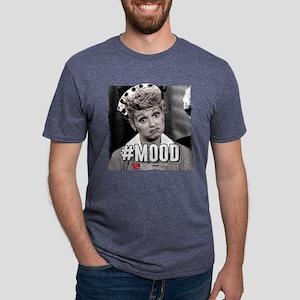 I Love Lucy #Mood Mens Tri-blend T-Shirt