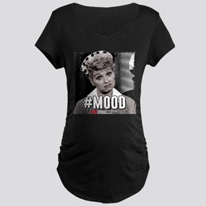 I Love Lucy #Mood Maternity Dark T-Shirt