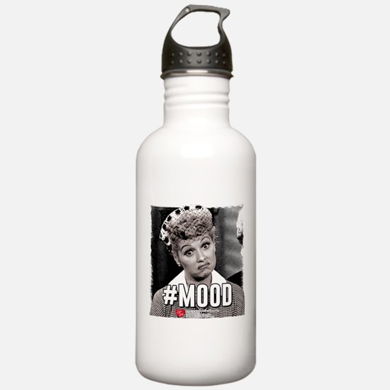 I Love Lucy #Mood Water Bottle