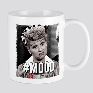 I Love Lucy #Mood 11 oz Ceramic Mug
