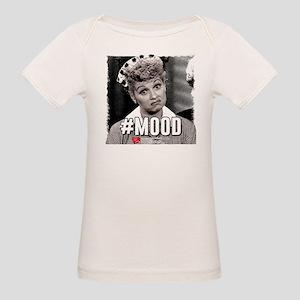 I Love Lucy #Mood Organic Baby T-Shirt