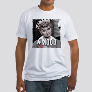 I Love Lucy #Mood Fitted T-Shirt