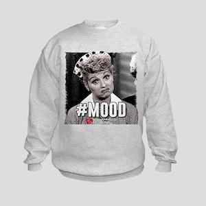 I Love Lucy #Mood Kids Sweatshirt