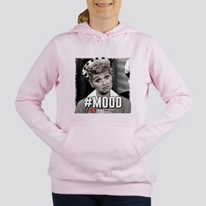 I Love Lucy #Mood Women's Hooded Sweatshirt