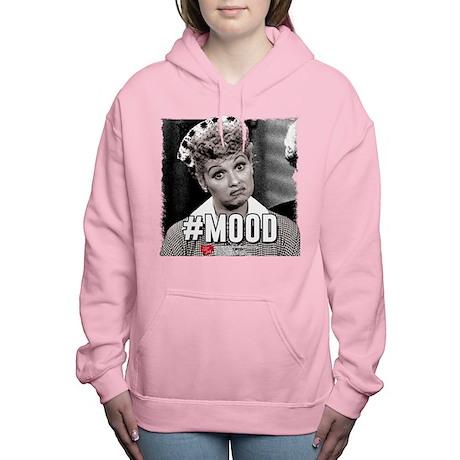 I Love Lucy #Mood Women's Hooded Sweatshirt