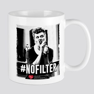 I Love Lucy #NoFilter 11 oz Ceramic Mug
