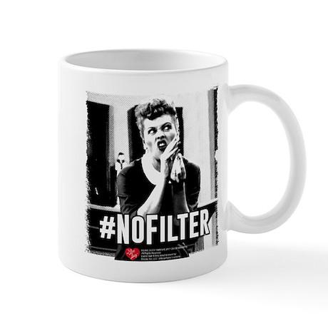 I Love Lucy #NoFilter 11 oz Ceramic Mug