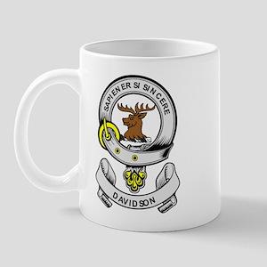 DAVIDSON 2 Coat of Arms Mug