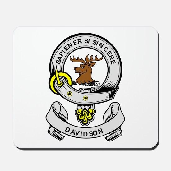 DAVIDSON 2 Coat of Arms Mousepad