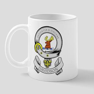 DAVIDSON 1 Coat of Arms Mug