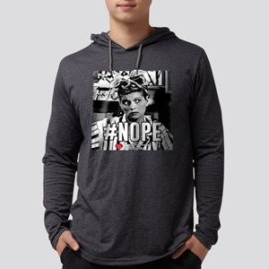 I Love Lucy #Nope Mens Hooded Shirt