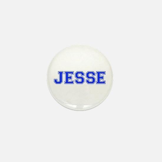 JESSE-var blue Mini Button
