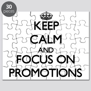 Keep Calm and focus on Promotions Puzzle
