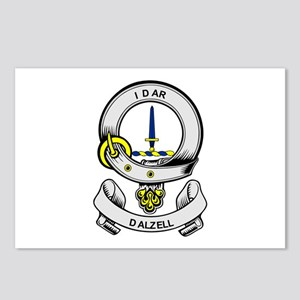 DALZELL Coat of Arms Postcards (Package of 8)