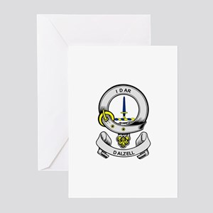 DALZELL Coat of Arms Greeting Cards (Pk of 10)