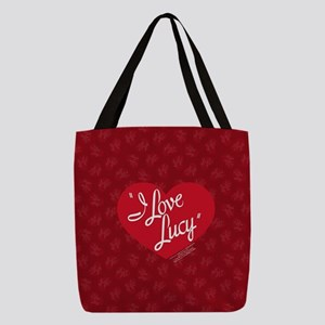 I Love Lucy Logo Polyester Tote Bag