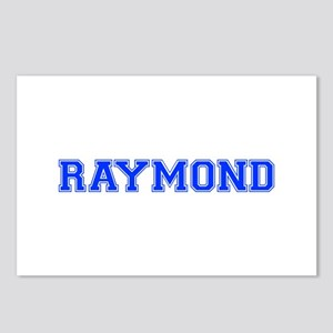 RAYMOND-var blue Postcards (Package of 8)