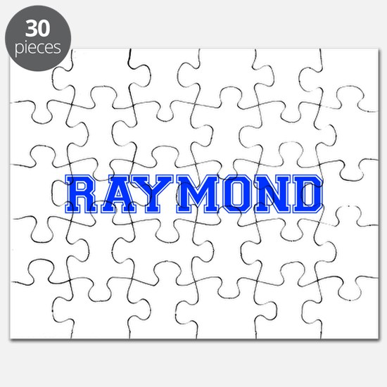 RAYMOND-var blue Puzzle